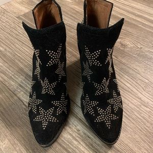 Jeffrey Campbell star ankle booties